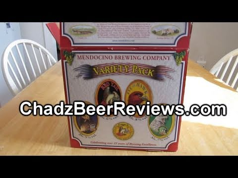Mendocino Brewing Co. Variety Pack | Chad'z Beer Reviews #428