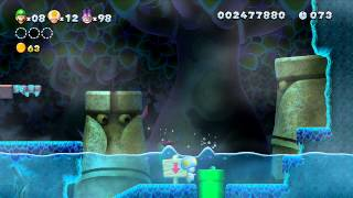 ABM: NEW SUPER LUIGI U (Walkthough 5) Gameplay!! HD