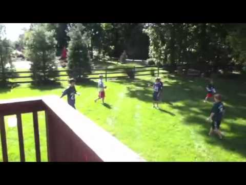 little kids playing backyard football fritz backyard football game