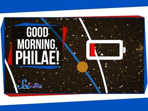Good Morning, Philae!