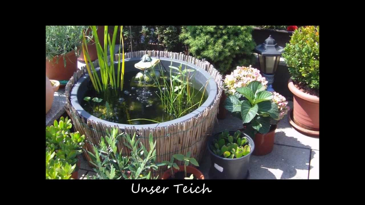 unsere terrasse im sommer 2012 youtube. Black Bedroom Furniture Sets. Home Design Ideas