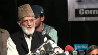 Full Speech of Syed Ali Shah Geelani at the Azadi Conference