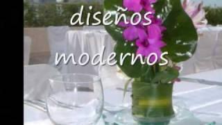 Arreglos florales para bodas, CENTROS DE MESA  floresbodacancun.com