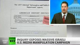 Massive Israeli Manipulation of US Media Exposed