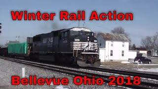 Winter Rail Action  Bellevue Ohio 2018