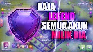 AKUN UNIK || RAJA LIGA LEGEND || BANYAK AKUN MILIK DIA SEMUA || Clash Of Clans Indonesia