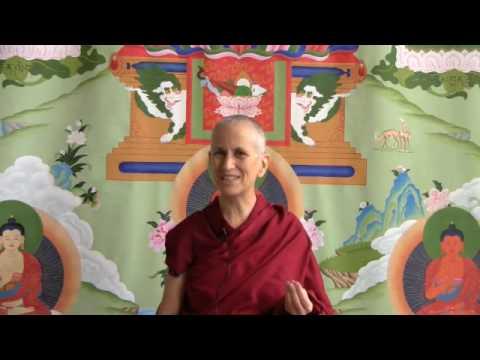 Visualizing the object of meditation