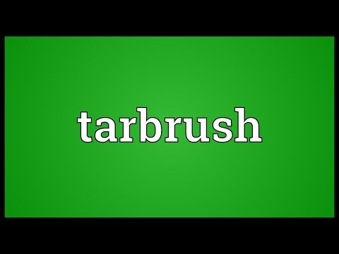 Header of tarbrush