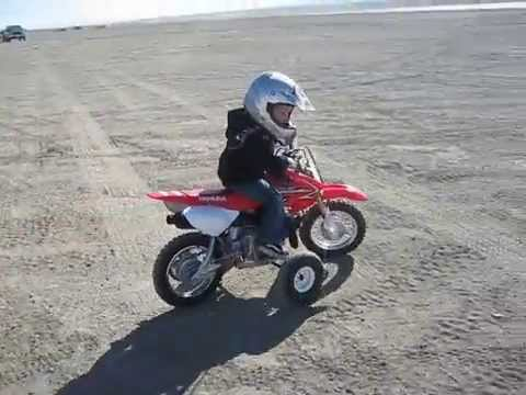 3 year old on honda CRF50 MX motocross