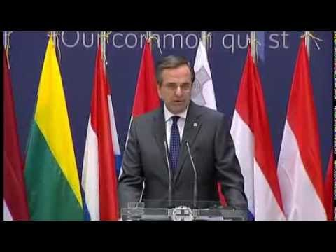 Joint Statements by Prime Minister Antonis Samaras and Commission President José Manuel Barroso