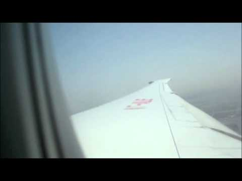 Air India 777-200 Landing at JFK Airport