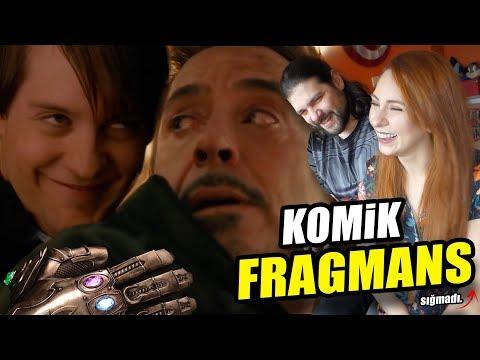 AVENGERS INFINITY WAR KOMİK FRAGMAN MONTAJI - REACTION
