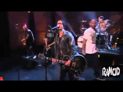 Transplants - Saturday Night (LIVE Conan O'Brien) Music Videos