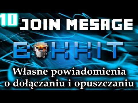 #10 JoinMessage - Własne Wiadomości Dołączania I Opuszczania Serwera