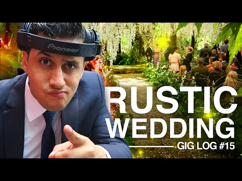 DJ GIG LOG: Party Goes Overtime | Rustic Outside WEDDING | Mobile DJ Tips