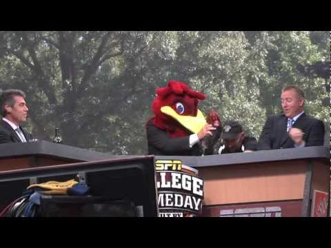 ESPN College GameDay comes to the Historic Horseshoe at the University of South Carolina