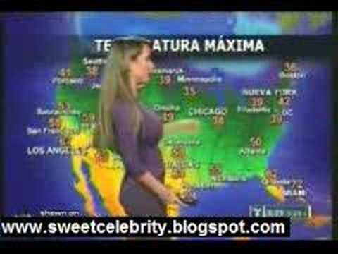 Smokin' Weathergirl
