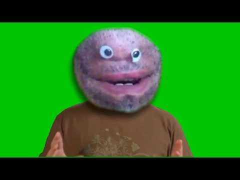 free green screen character thumbnail