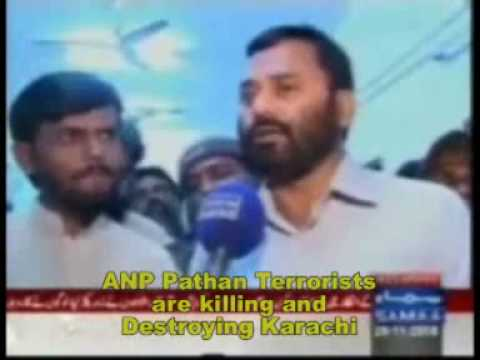 Karachi Pathan raped women, Killed Mohajirs & burnned houses