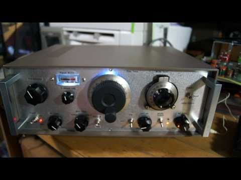 Superheterodyne SW Tube Receiver, 7/10MHz, AM/SSB/CW, Part-1, Listening To CW