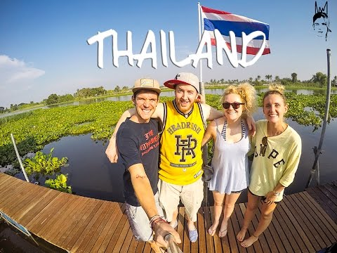 Bangkok   Kanchanaburi   Elephant's World: Kinging-It Thailand Vlog Ep. 9