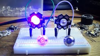 LEDs as a Power Source - With Lasers