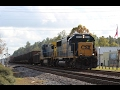 Railfanning Folkston, GA 12/27/16 ft SD50, SD70M, Dash 9, lots of K5H's, & more!