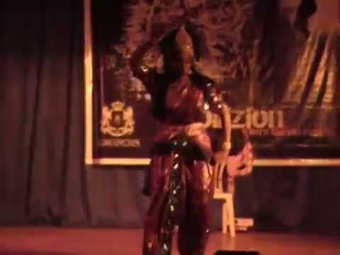 Aigiri Nandini-durga Mahishasur Solo Semi-classical Indian Dance video