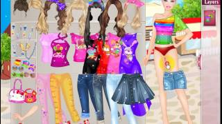Dress Up Games  Celebrities  Barbie  Barbie Shopping Dress up Game