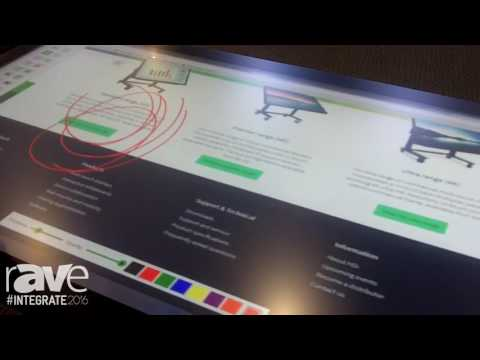 Integrate 2016: Technology Core Shows New Capacitive Touch Screen and Qwizdom Oktopus Solution