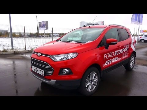 2015 Ford EcoSport Titanium. Start Up, Engine, and In Depth Tour.