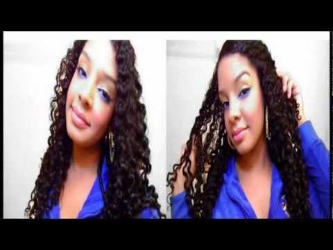 Twist Out On Natural Curly Hair Tutorial : Overnight Twists : Heatless Hairstyle