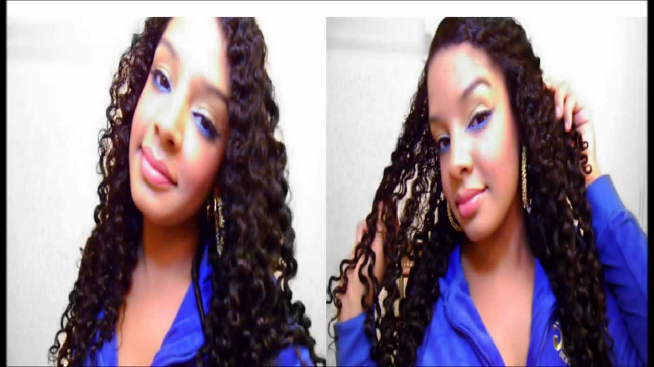Twist Out On Natural Curly Hair Tutorial : Overnight