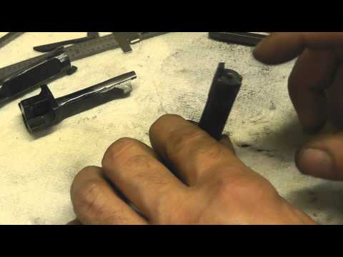 Repair a Winchester 1873 Cowboy Action lever gun.wmv