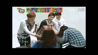 [ENG SUBS] Infinite Sponge - SG, WH, HY 110923