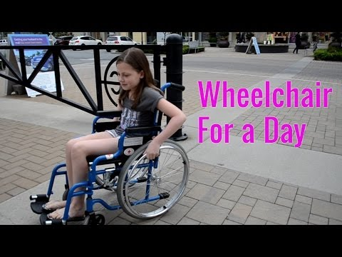 Wheelchair For A Day - TruthPlusDare Extra | Bethany G