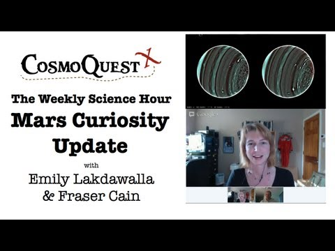CosmoQuest Science Hour, DPS/Curiosity Update
