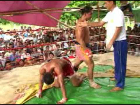 Myanmar Lethwei, Win Tun vs. Saw Thi Aung Video