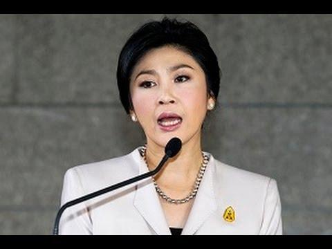 PM Yingluck Shinawatra Menangis