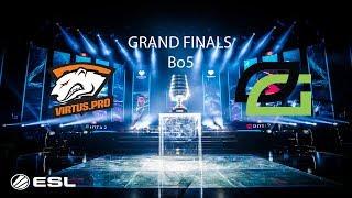 [DOTA 2 LIVE] VIRTUS.PRO VS OPTIC GAMING  Bo5   ESL One Birmingham 2018 - GRAND FINALS