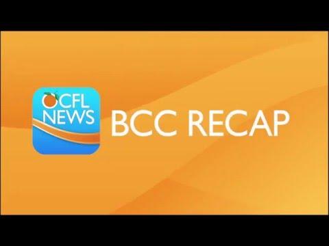 BCC RECAP - February 9, 2016