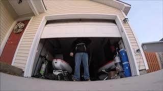 Dramatic Garage Door Reveal  / Windsor Park Leland, NC.