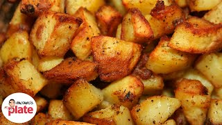 CRISPY ROAST POTATOES RECIPE | Nonna Best Roasted Potatoes in Oven