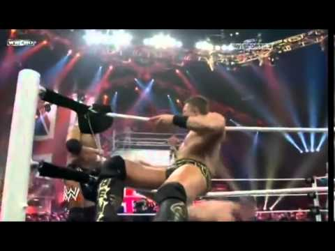 Sin Cara,John Cena Vs. The Miz, Alex Riley WWE Raw 18-04-11
