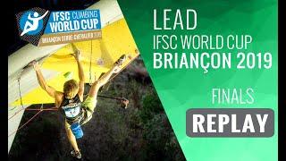 IFSC Climbing World Cup Briançon 2019 - Lead Finals