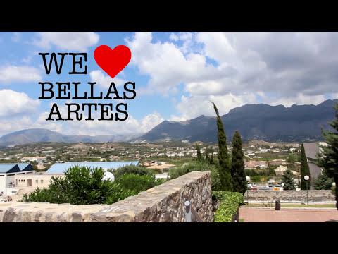 Vídeo promocional del Grado en Bellas Artes. UMH. Altea