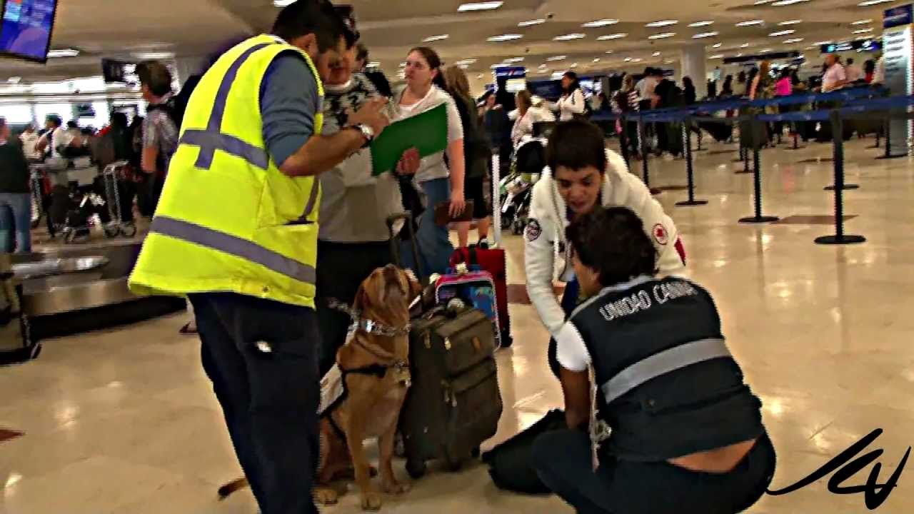 Cancun airport - YouTube
