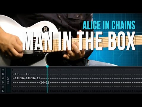 Alice in Chains - Man In The Box - Aula de guitarra - TV Cifras