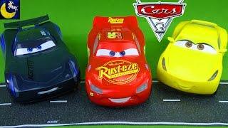 Talking Sounds and Phrases Lightning McQueen Jackson Storm Cruz Ramirez Disney Pixar Cars 3 Toys