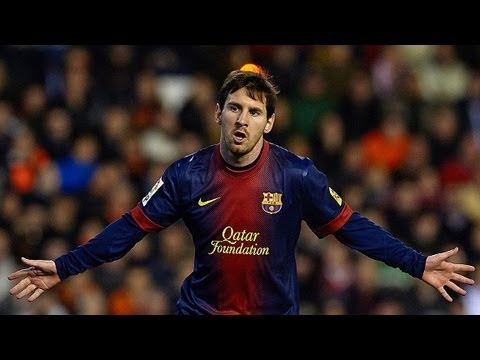 Barcelona release video celebrating Lionel's new contract: Messi 2018